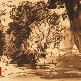 Unearthed John Constable drawings sell for £92k